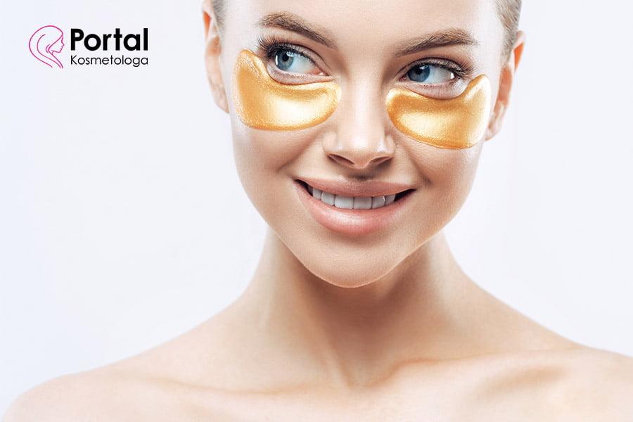 Płatki kolagenowe pod oczy - właściwości pielęgnacyjne