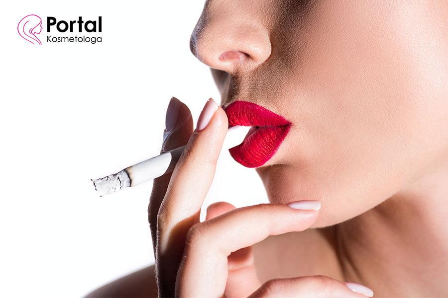 Jak palenie papierosów wpływa na skórę