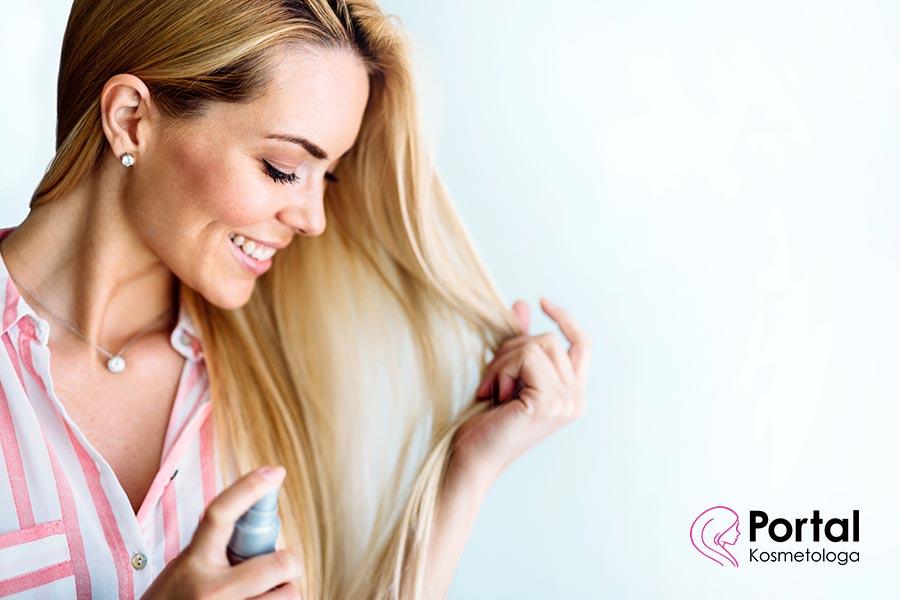 Mgiełka do włosów - właściwości pielęgnacyjne