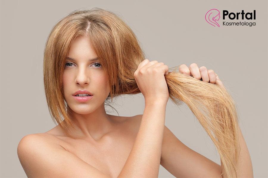 Włosy suche - odżywianie i pielęgnacja