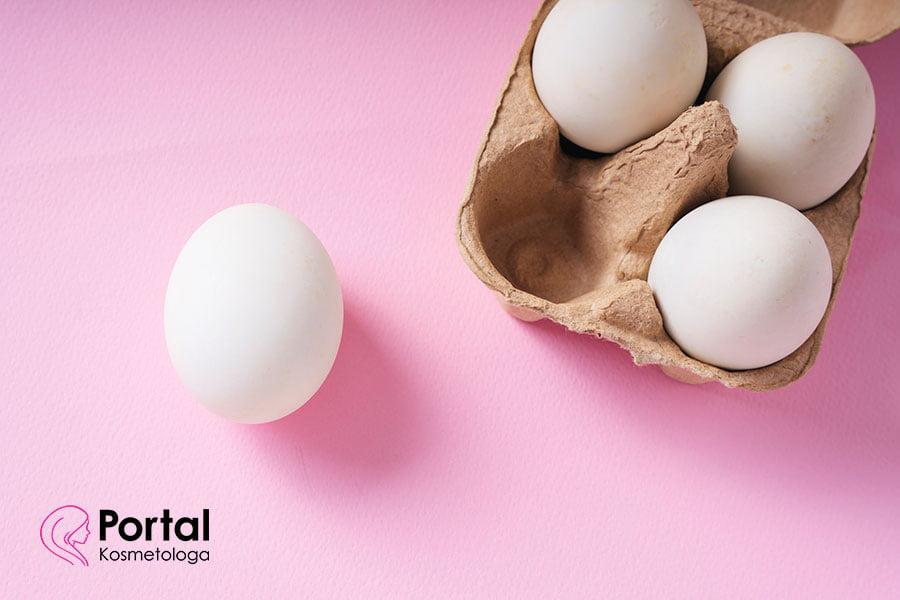 Maseczka z jajka - właściwości pielęgnacyjne