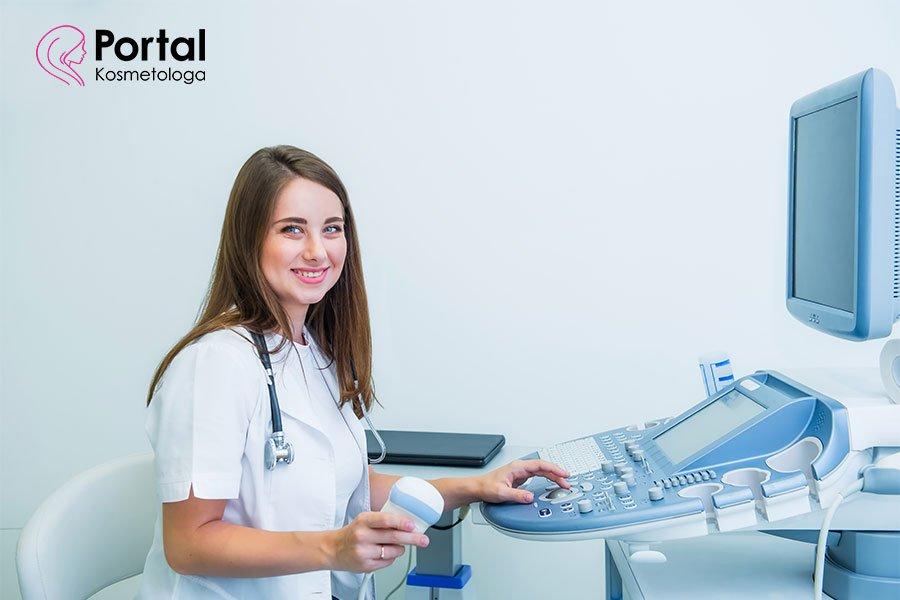 Ultrasonografia w gabinecie kosmetycznym