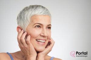 Nanotechnologia w pielęgnacji skóry dojrzałej