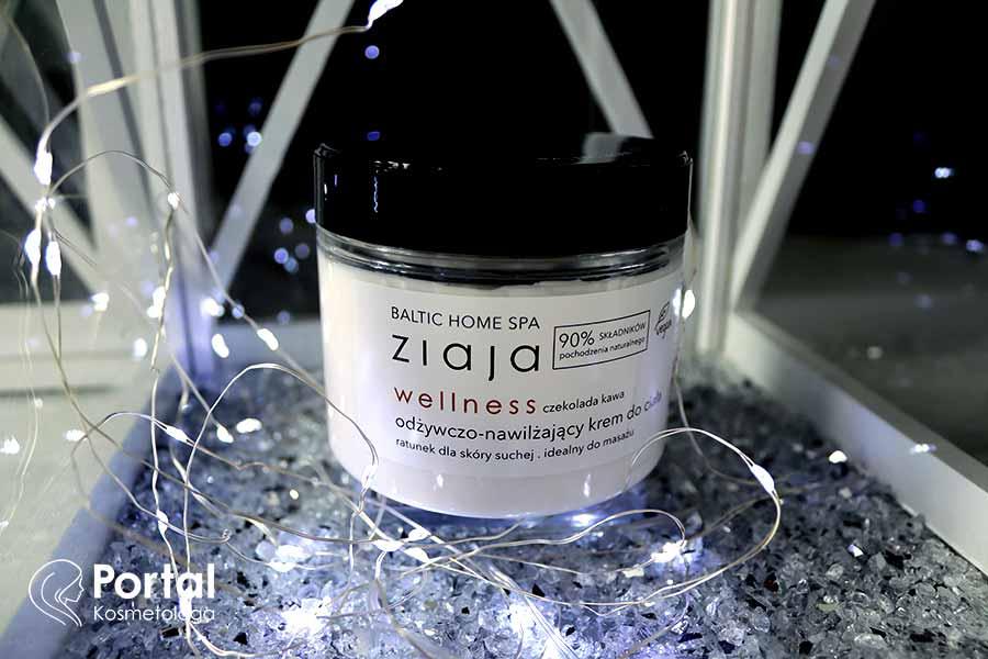 Odżywczo-nawilżający krem do ciała baltic home spa wellness